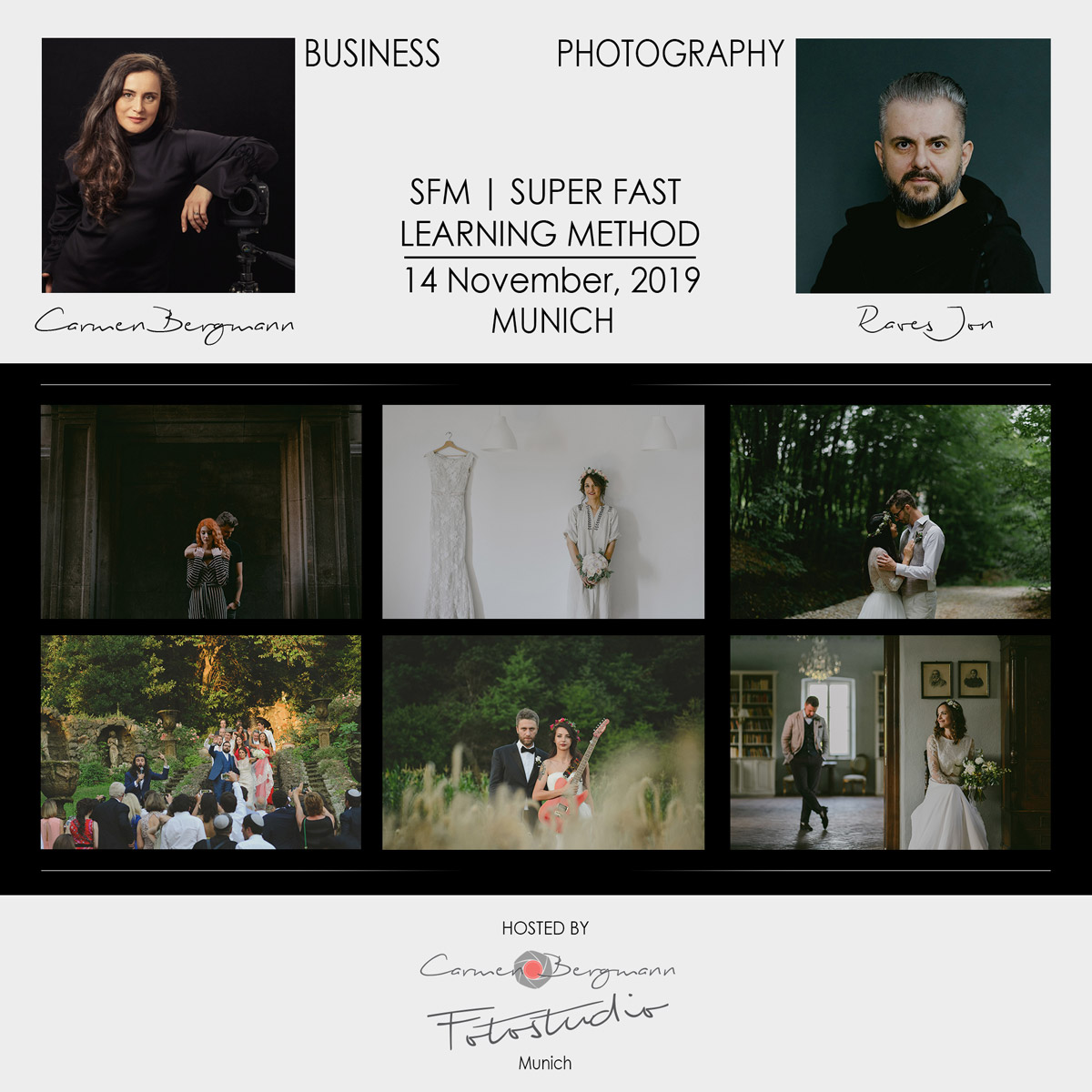 Wedding Photography and Marketing for Photographers Workshop Carmen Bergmann Studio Munich by Rares Ion
